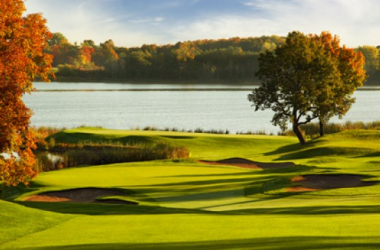 The venue for an epic rivalry (photo: Hazeltine National)