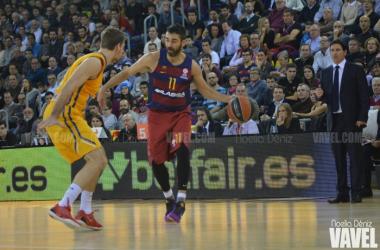 """Xavi Pascual: """"Dominion Bilbao Basket es uno de los rivales más fuertes"""""""