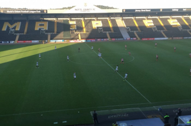 Meadow Lane hosted an enthralling FA WSL 1 encounter (photo: Vavel/Chris Lincoln)