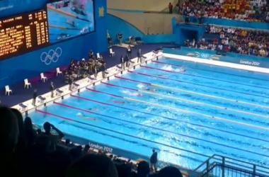 Debut de la natación Argentina