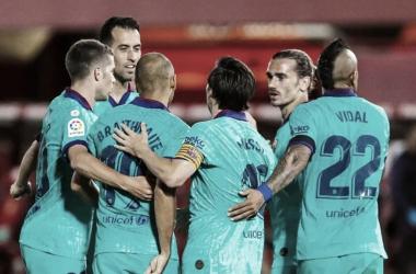 Barcelona goleia Mallorca e aumenta vantagem na liderança da LaLiga