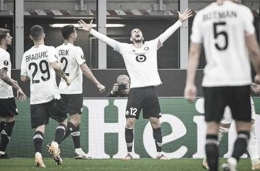 Yazici faz hat-trick, Lillepasseia sobre Milan e lidera Grupo H da Europa League