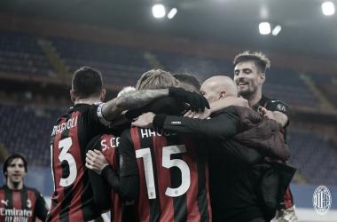 Milan bate Sampdoria fora de casa e se isola na liderança da Serie A