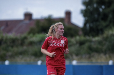 Molly Holder playing for Middlesbrough Women | Photo: Molly Holder / Middlesbrough Women FC