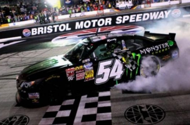 Busch Grabs Pole For The Food City 300 At Bristol