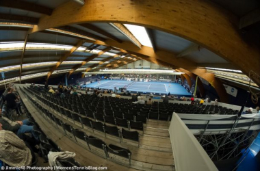The BGL BNP Paribas Luxembourg Open has been held at the CK Sports Center Kockelscheuer for more than a decade. (Photo credit: Jimmie48 Tennis Photography)