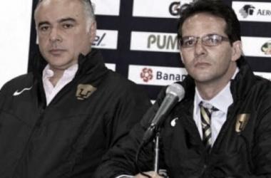 Guillermo Vázquez y Antonio Sancho salen de Pumas (Foto | Club Universidad)