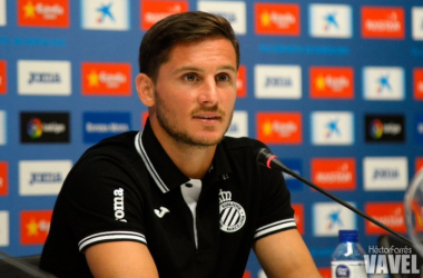 """Piatti: """"Mi objetivo es quedarme en el Espanyol"""""""