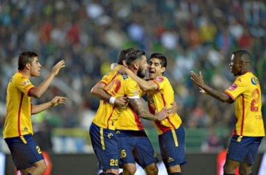 Morelia pulled off the upset of the weekend.Photo- Notimex