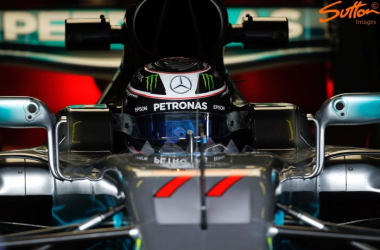 Valtteri Bottas was once again quickest and set the fastest time of testing so far. (Image Credit: Sutton Images)