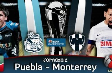 Resultado Puebla - Monterrey en Liga MX 2014 (1-1)