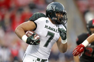 With Their Final Pick The Tampa Bay Buccaneers Select Running Back Joey Iosefa