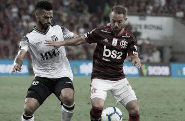 Ceará desafia embalado Flamengo em busca de recuperação no Brasileiro