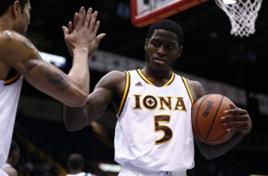 Not only was Iona's senior guard A.J. English a unanimous selection by our mid-major experts for MAAC Player of the Year, but his team was too in regards to making the NCAA Tournament. Photo courtesy of Mark L. Baer of USA TODAY Sports.