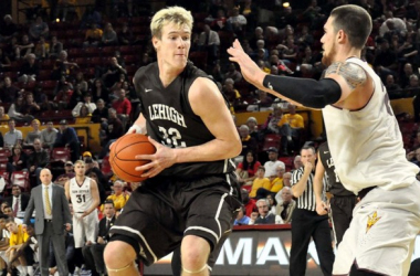 Prime For The Patriot League Tournament: Tim Kempton's 23 Points & 18 Rebounds Flies Lehigh Mountain Hawks Past Army