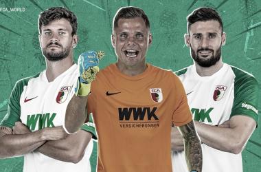 """Pacotão de reforços: Augsburg acerta com """"trintões"""" da Bundesliga"""