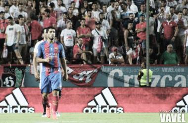 Luis Suárez en la Supercopa de España. Foto: Juan Ignacio Lechuga, VAVEL