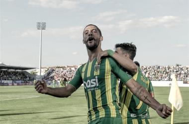 O Tondela assegurou a permanência na 1ª Liga // Foto: tsf.pt