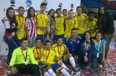 Colombia campeón del mundial de fútbol de salón Sub-17