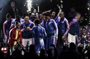 Fiesta en el Campín a cargo de la 'Tricolor' | Foto: AFP