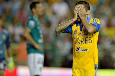 Tigres look to give Leon their first dropped points of the season Isaac Ortiz- MEXSPORTS