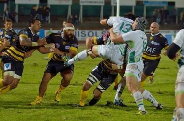 troisième affrontement consécutifs entre La Rochelle et Pau à ce stade de la compétition.stademontoisrugby.blogspot.com