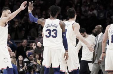 La campaña de los Sixers ha sido espectacular. Foto: NBA.com