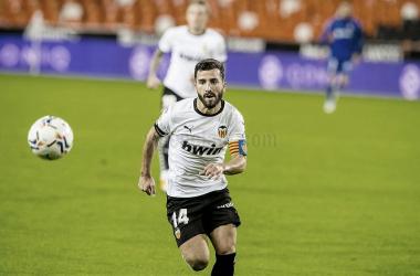 José Luis Gayá:«El punto es lo de menos, hoy hemos visto al Valencia que todos queremos ver»