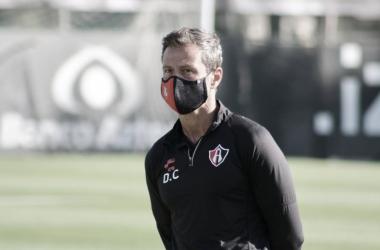 """Diego Cocca: """"Julio Furch no es fácil reemplazarlo"""""""