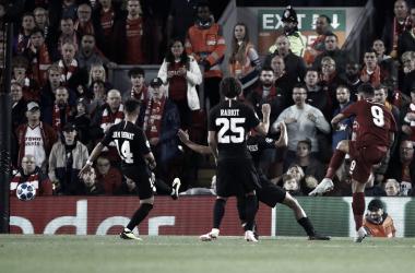 Ganó en los últimos compases de encuentro el Liverpool. Fuente: Liverpool FC