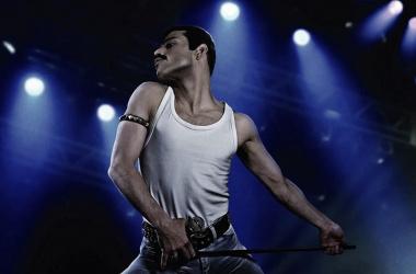 Una de las primeras imágenes promocionales de Rami Malek caracterizado como Freddie Mercury. Foto: 20th Century Fox