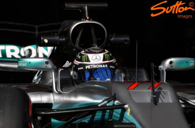 Valtteri Bottas was fastest on Day 3, but Ferrari are close to Mercedes. (Image Credit: Sutton Images)