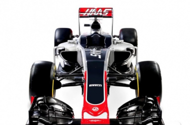 Haas's first effort at an F1 car, the VF-16 has so far hauled 28 points. (Image Credit: Motorsport.com)
