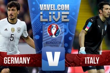 Terminado Alemanha x Itália no Euro 2016