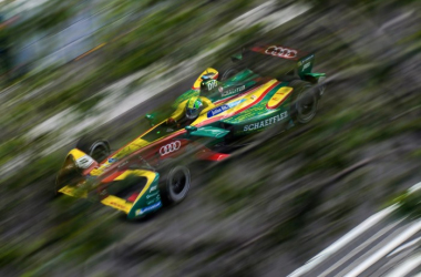 Lucas di Grassi took advantage of rival Sebastien Buemi's penalty to secure pole in Montreal. (Image Credit: FIA Formula E)