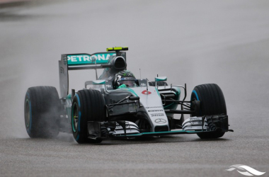 12 months ago, after being in control of the race, Nico Rosberg's erorr handed Lewis Hamilton the title. (Image Credit: Circuit of the America's)