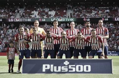 Mal arranque del Atlético de Madrid en estas primeras cuatro jornadas. Fuente: Atlético de Madrid
