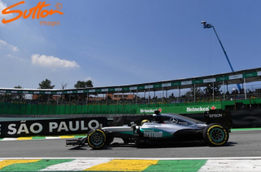 It was a perfect, trouble free Friday for Lewis Hamilton in his bid to catch team-mate Nico Rosberg. (Sutton Images)