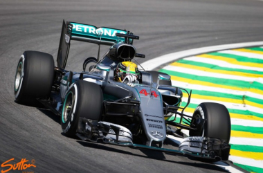 Lewis Hamilton looked in supreme form as he clinched his 11th Pole of the season. (Sutton Images)