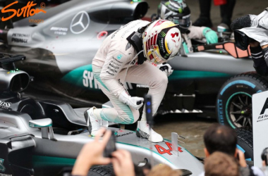 Lewis Hamilton 52nd win has ensured that the title race will go down to Abu Dhabi. (Sutton Images)