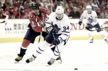Los Capitals y Maple Leafs obtuvieron un puesto para los Playoffs