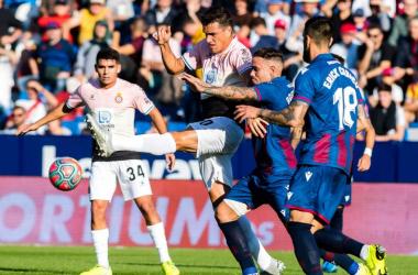Levante y Espanyol se miden en el Ciutat. / Foto: Levante UD