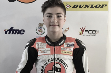 Izan Guevara, piloto de la Cuna de Campeones. Fuente: Cuna de Campeones