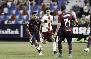 Resumem SD Huesca vs Levante UD en LaLiga Santander(2-2)