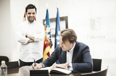 Quico Catalán con Juan Antonio Sagredo / Fuente: levanteud.com