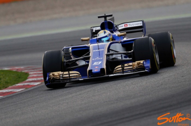 Sauber will finish in the top 10 in the constructors', but they'll be wanting the C36 to deliever points often. (Image Credit: Sutton Images)