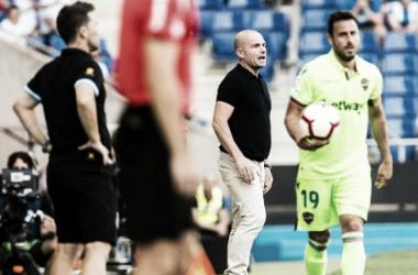 Paco López ante el RCD Espanyol/ Fuente:levanteud.com