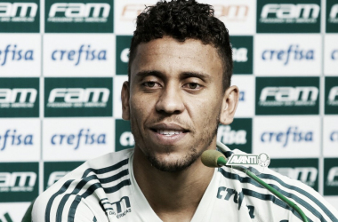 Marcos Rocha é um dos líderes de assistência do time na temporada (Foto: Cesar Greco/Ag Palmeiras/Divulgação)
