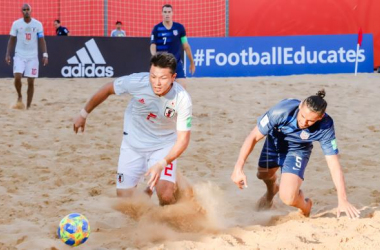 Summary and highlights of USA 4-9 Paraguay IN Beach Soccer World Cup