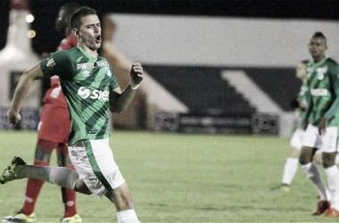 Rafael Santos Borré estará un mes fuera de competencia